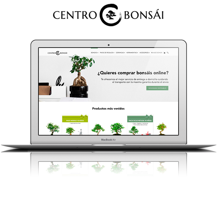 Responsive Mock up centrobonsai