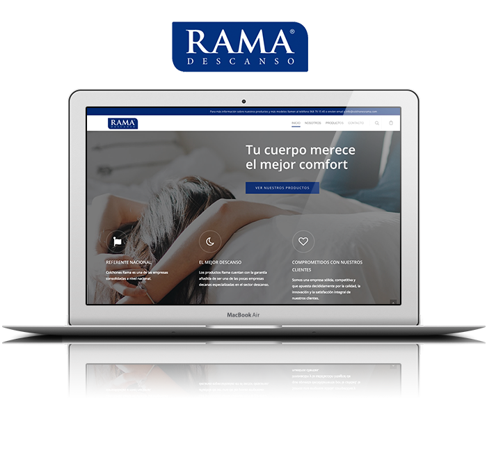 Responsive Mock up rama