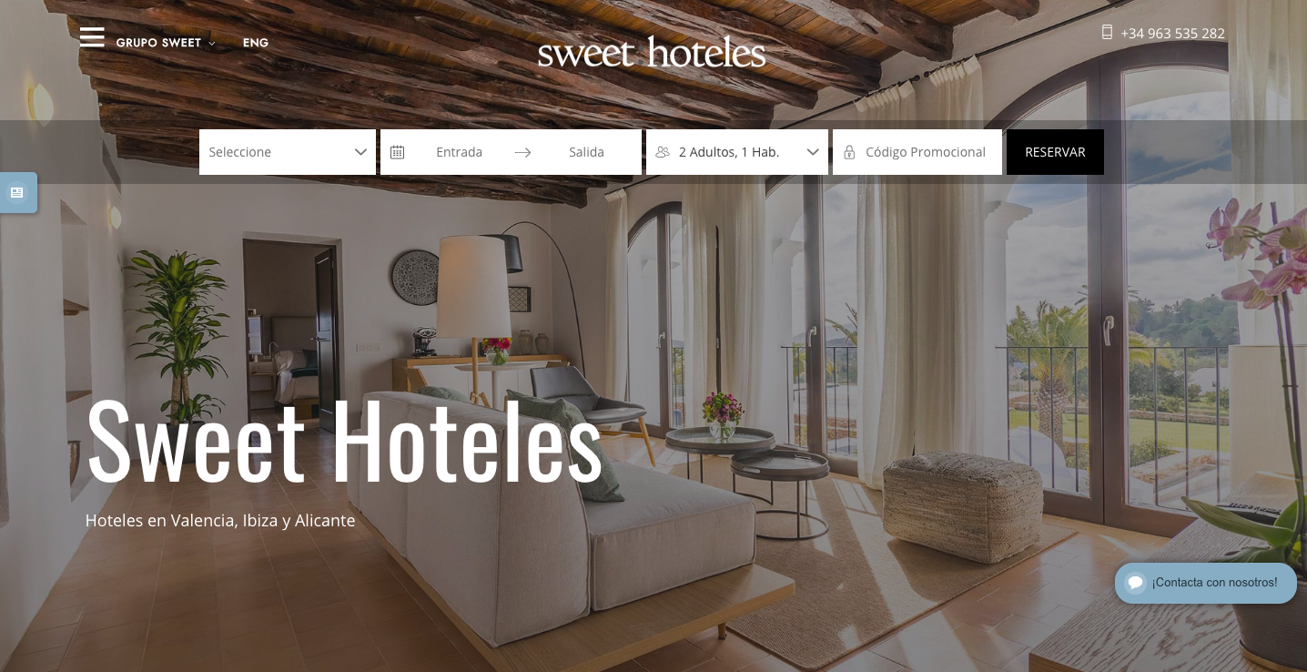 SWEET HOTELES MARKETING DIGITAL ICRONO CLIENTES