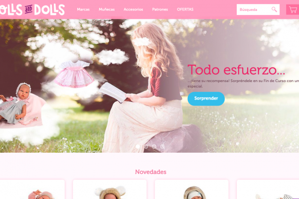 MARKETING DIGITAL CLIENTES ICRONO DOLLSANDDOLLS